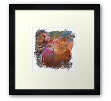Cosmic Mushrooms 1 (framed version) Framed Print