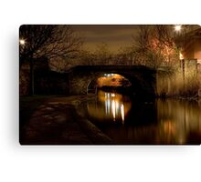 Bow Canal Canvas Print