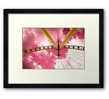 The Eye: Beauty is in the eye of the beholder... Framed Print