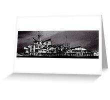 The Shipyard at Goodbye Point Greeting Card