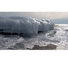 Last Ice on the Shore Photographic Print