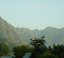 Mughal skies in Kashmir by naddum