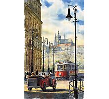 Prague Kaprova Street Photographic Print