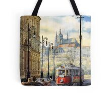 Prague Kaprova Street Tote Bag