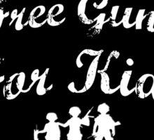 Free Guns For Kids Sticker