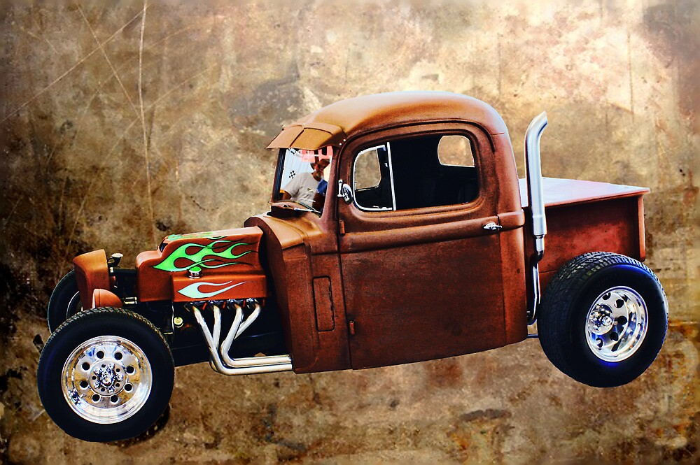 Rat Rod with Semi Cab by TWindDancer