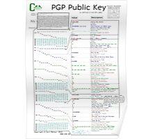 PGP Public Key Poster
