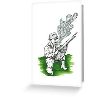 Exhale Greeting Card