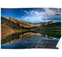 Lake in Leadville Colorado Poster