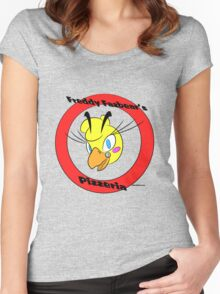 Freddy Fazbear's Pizzeria: Toy Chica Women's Fitted Scoop T-Shirt
