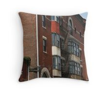Escape from Danger Throw Pillow