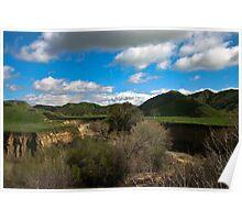 """"""" Fair Mountain Valley , Ca ."""" Poster"""