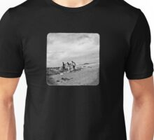 after the waves (on black) Unisex T-Shirt