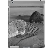White Rock, Black Rock iPad Case/Skin
