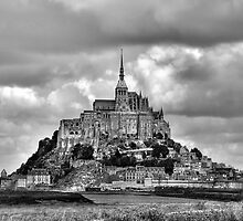 The Abbey of Mont-Saint-Michel by Lanis Rossi