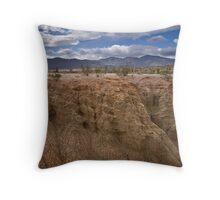 Slot Canyon, Borrego Throw Pillow
