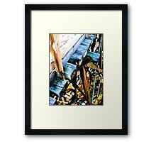 Overpass Ravine Framed Print