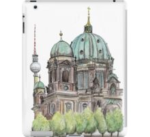 The Berliner Dom & TV Tower iPad Case/Skin