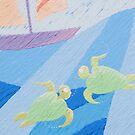 Turtle Twins (Greeting Cards) by cheska