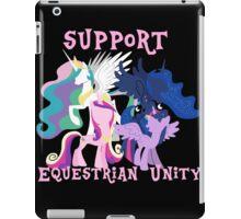 Support Equestrian Unity iPad Case/Skin