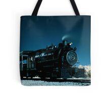Flagg Coal Steam Engine Color IR Tote Bag