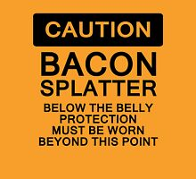 Bacon Splatter Warning Unisex T-Shirt