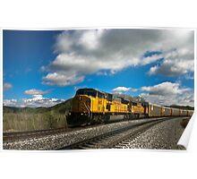 """ Fair Mountain Valley Freight "". Poster"