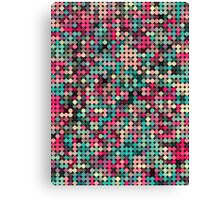 Busy dots Canvas Print