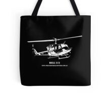 Bell 212 Helicopter Tote Bag