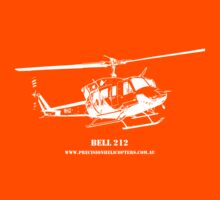 Bell 212 Helicopter Kids Clothes