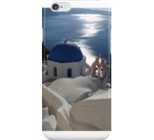 Stairway to Blue Domed Church iPhone Case/Skin