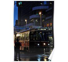 Streetcar at Dusk Poster