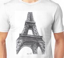 Eiffel Tower, Paris, France. Unisex T-Shirt