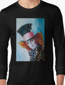 The Mad Hatter - Johnny Depp Long Sleeve T-Shirt