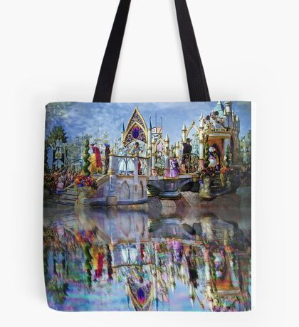 The Happiest Place on Earth Tote Bag