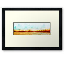 Burnt Outback Framed Print