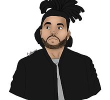 The Weeknd by LizDrawsss