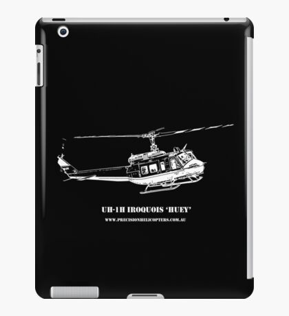 UH-1H Huey Helicopter iPad Case/Skin