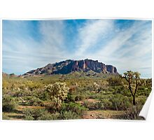 Superstition Mountains Poster