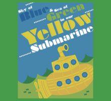 Yellow Submarine Kids Tee