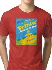 Yellow Submarine Tri-blend T-Shirt