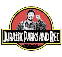 Jurassic Parks and Rec by SineadSpeirs