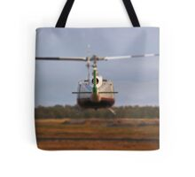 Huey Helicopter Departing Tote Bag