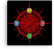 XBOX Gamer's Compass - Adventurer Canvas Print