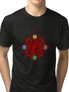 XBOX Gamer's Compass - Adventurer Tri-blend T-Shirt