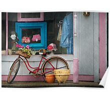 Bike - Lulu's Bike Poster