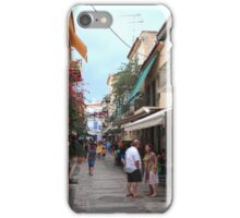 Greek conversation iPhone Case/Skin