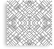 PS Grid 45 Canvas Print