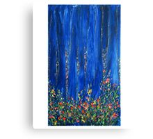 THE PINE FOREST  by Janai-Ami Canvas Print