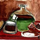 Still Life (Olive Oil,Spice & Melon) by RobynLee